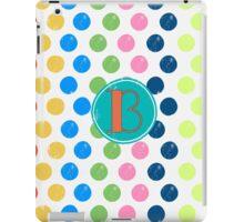 Polka Dot B iPad Case/Skin