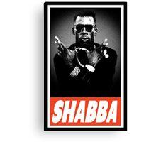 Shabba Canvas Print