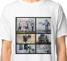 Banksy Montage 04 Classic T-Shirt