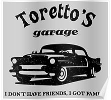 Toretto's Garage. Fast and Furious / Gas Monkey - inspired Poster
