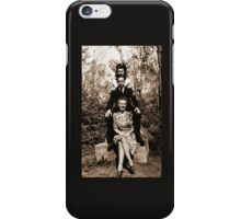 Three Friends in Halifax, Nova Scotia, Canada during WW2. iPhone Case/Skin