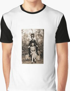 Three Friends in Halifax, Nova Scotia, Canada during WW2. Graphic T-Shirt