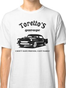 Toretto's Garage. Fast and Furious / Gas Monkey - inspired Classic T-Shirt