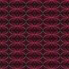 A Dotty Kaleidoscopic Pattern by Charldia