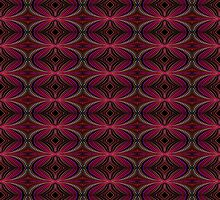 A Dotty Kaleidoscopic Pattern by Charldia