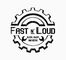Fast and Loud, Inspired Gas Monkey. Black design. Unisex T-Shirt