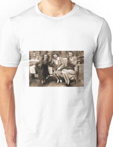 Women drinking Stolen Olands's Export Ale during the Halifax Riots in Canada Unisex T-Shirt