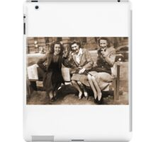 Women drinking Stolen Olands's Export Ale during the Halifax Riots in Canada iPad Case/Skin