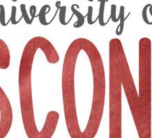 University of Wisconsin Sticker