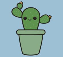 Cute cactus in green pot Baby Tee