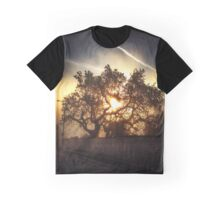 Sunset Through the Trees  Graphic T-Shirt