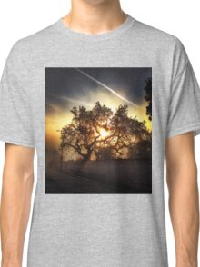 Sunset Through the Trees  Classic T-Shirt