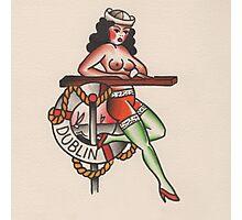 Sailor Girl Photographic Print