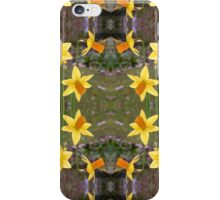 Daffodils and Spring Fabrics iPhone Case/Skin