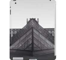 Black and White Louvre iPad Case/Skin