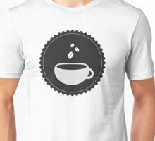 Coffee Cup and Beans Unisex T-Shirt