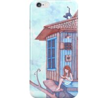 House on the moonlight iPhone Case/Skin