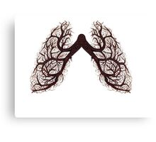 tree lungs Canvas Print