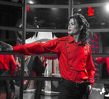 Michael Jackson (selective color) by TJ Baccari Photography