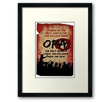 opa poster Framed Print