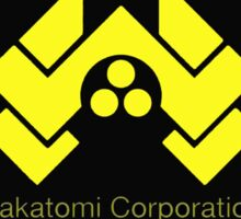 die hard nakatomi corporation logo Sticker