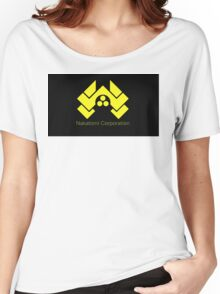 die hard nakatomi corporation logo Women's Relaxed Fit T-Shirt