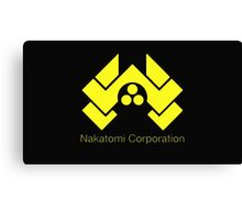 die hard nakatomi corporation logo Canvas Print
