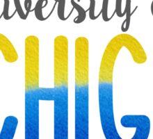 University of Michigan Sticker