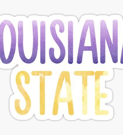 Louisiana State University - LSU Sticker