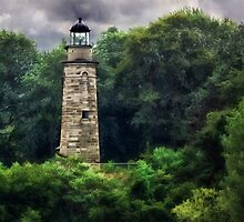 Erie Land Lighthouse - Erie, PA by Kathy Weaver