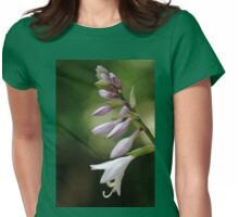 Hosta Flower Womens Fitted T-Shirt