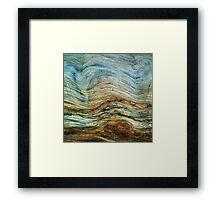 Rock Trail 1 Framed Print