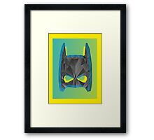 Pop Batman Framed Print