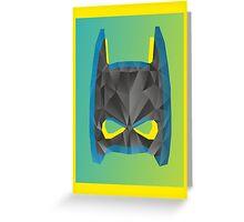 Pop Batman Greeting Card