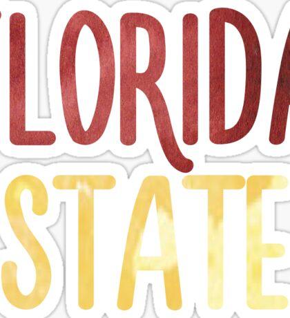 Florida State University - FSU Sticker