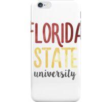 Florida State University - FSU iPhone Case/Skin