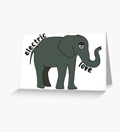 Electric Love Greeting Card