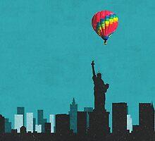 Coldplay New York Duvet by Marcuccio