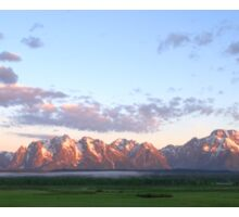 Grand Teton Sunrise Sticker