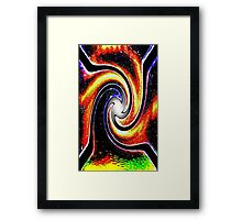 AB203 Abstract Framed Print