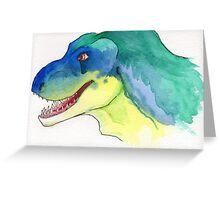 Happy Tyrannosaurus Rex Greeting Card