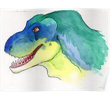 Happy Tyrannosaurus Rex Poster