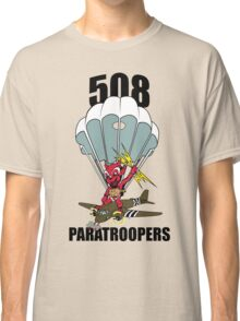 508 PARATROOPERS CARTOON Classic T-Shirt