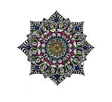 Mandala #4 by Emkaey