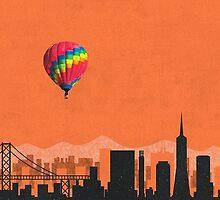 Coldplay San Franciso Duvet by Marcuccio