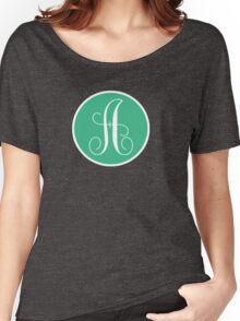 A Polks Dot Women's Relaxed Fit T-Shirt