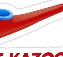 Kazoo kid - Just Kazoo It (Nike style) Sticker