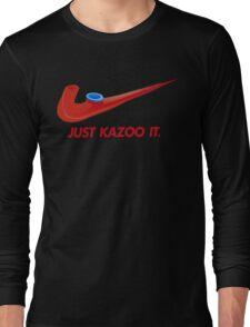 Kazoo kid - Just Kazoo It (Nike style) Long Sleeve T-Shirt