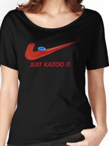 Kazoo kid - Just Kazoo It (Nike style) Women's Relaxed Fit T-Shirt