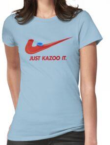 Kazoo kid - Just Kazoo It (Nike style) Womens Fitted T-Shirt